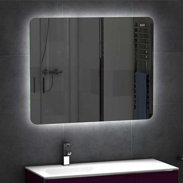 Espelho diodo Emissor de luz Verona para casa de Banho