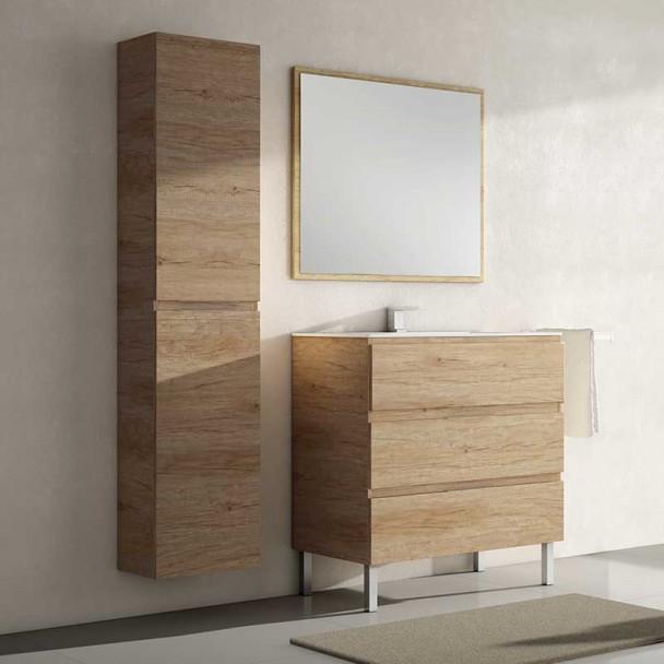 Conjunto de Móveis de casa de Banho Catania 3C Itália