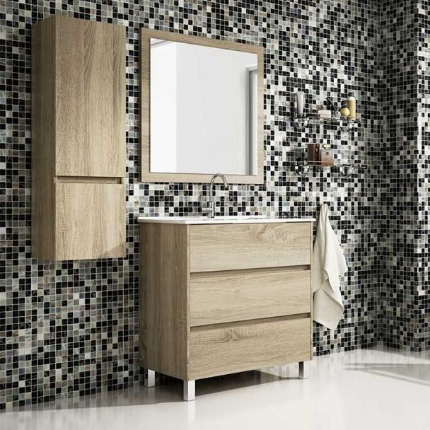 Conjunto de Móveis de casa de Banho Noelia 3C