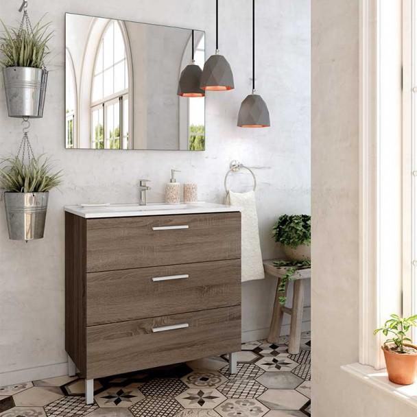 Conjunto de Móveis de casa de Banho Menorca 3C