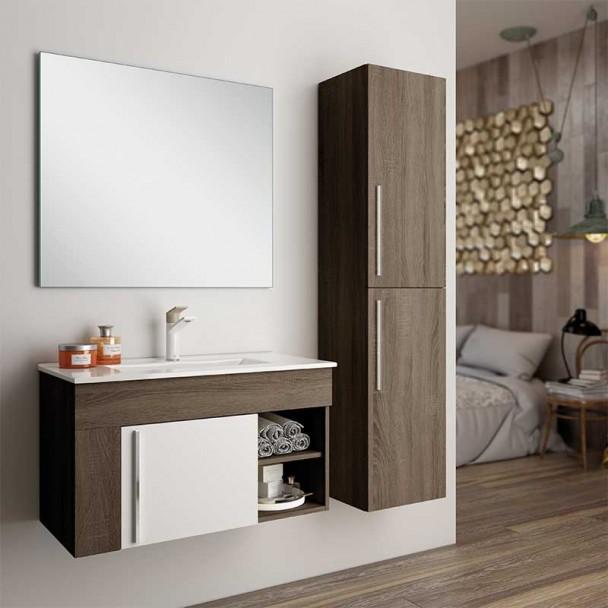 Conjunto de Móveis de casa de Banho Girona Fundo Reduzido