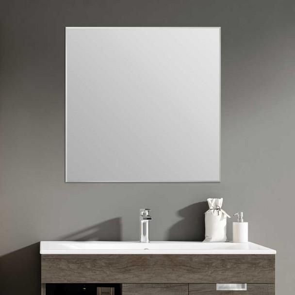 Espelho de casa de Banho Quadrado Moldura