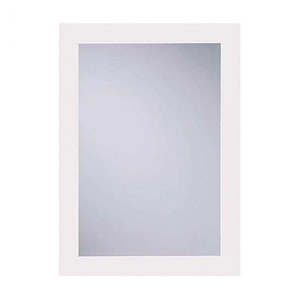 Espelho de casa de Banho Lua Branco 55x75 cm