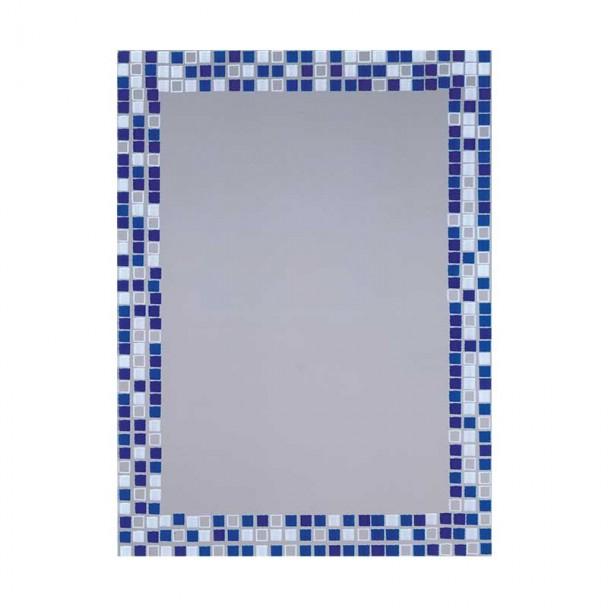 Espelho de casa de Banho Lua Juntamente com o Azul 55x75 cm