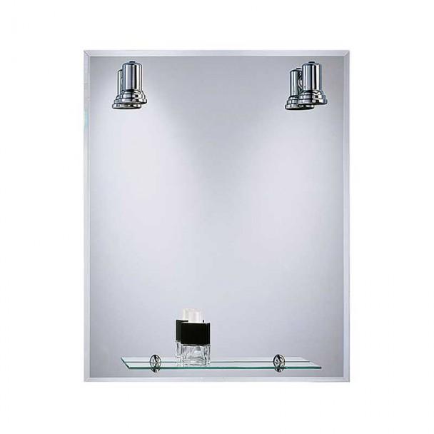 Espelho de casa de Banho com Focos Balear Moldura 60x75 cm