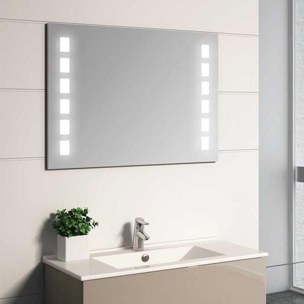 Espelho diodo Emissor de luz Moscovo para casa de Banho