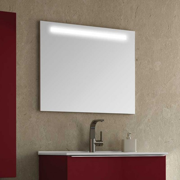 Espelho diodo Emissor de luz Elite para casa de Banho
