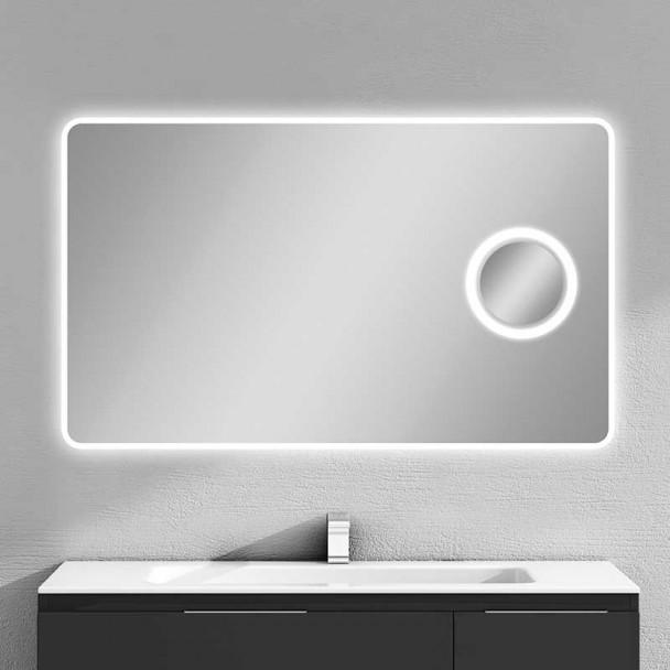 Espelho diodo Emissor de luz Oásis para casa de Banho