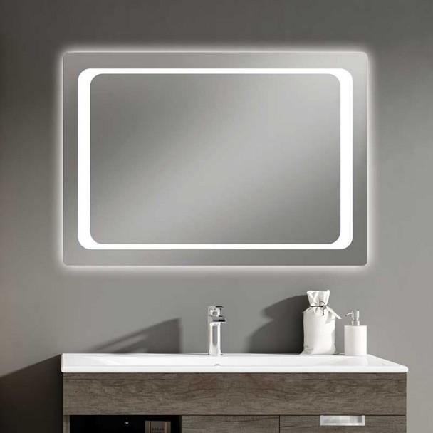 Espelho diodo Emissor de luz Tóquio para casa de Banho