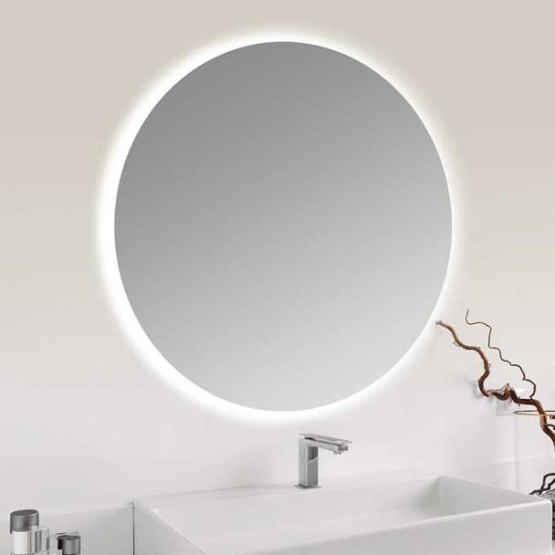 Espelho diodo Emissor de luz solar para Banho