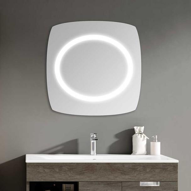 Espelho diodo Emissor de luz do Eclipse para casa de Banho