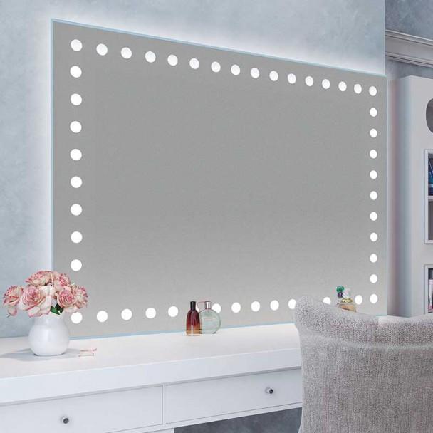 Espelho diodo Emissor de luz Sevilha para casa de Banho