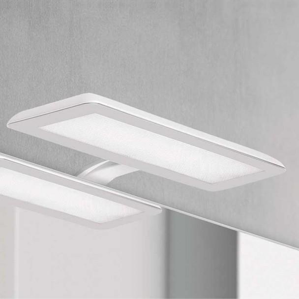 Aplique diodo Emissor de luz Nikita Branco 30 cm