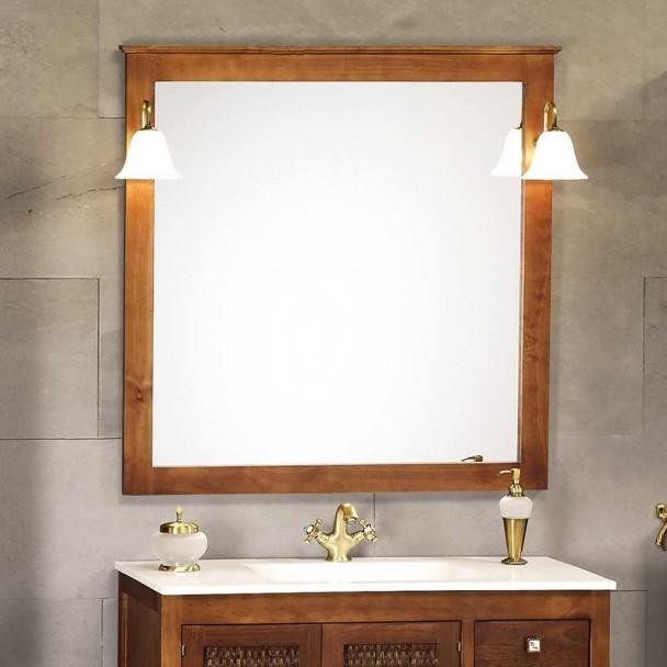 Espelho de Banheiro Rústico Jaca