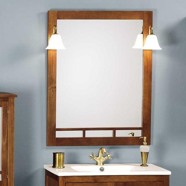 Espelho de Banheiro Rústico Berlim