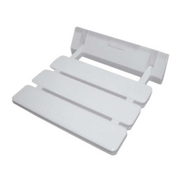 Assento de Duche Dobrável Alumínio ABS