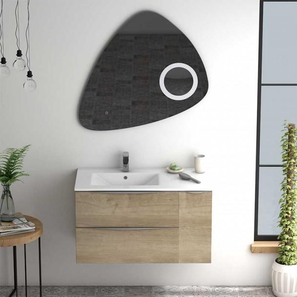 Conjunto para Banheiro Landes 90 Bacia Ônix