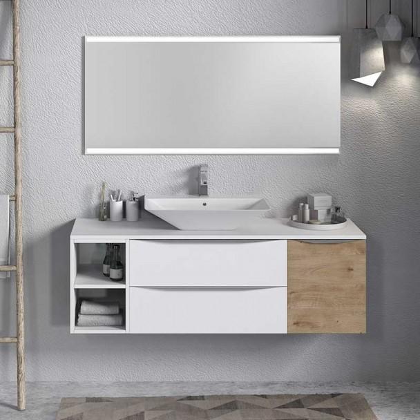 Conjunto para Banheiro Landes Modular 150 2 Gavetas
