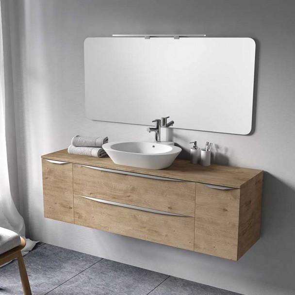 Conjunto para Banheiro Landes Modular 160 2 Gavetas