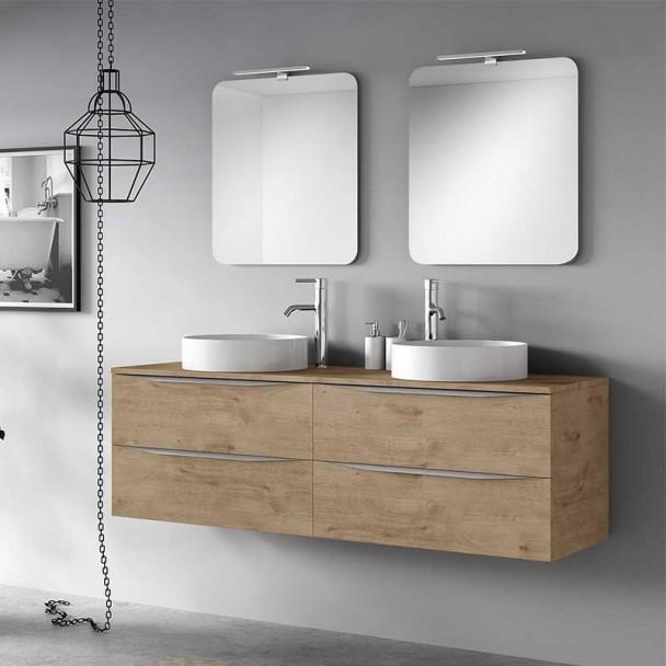 Conjunto para Banheiro Landes Modular 160 4 Gavetas